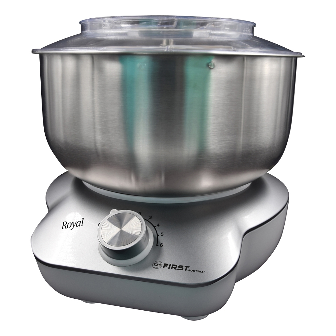 Mixer FIRST FA-5259-2-SI (power 800 W, 6-speed bowl 5 l cover protection spray) mixer ariete 1594 00 in 650 w 6 speed bowl 4 l stainless steel