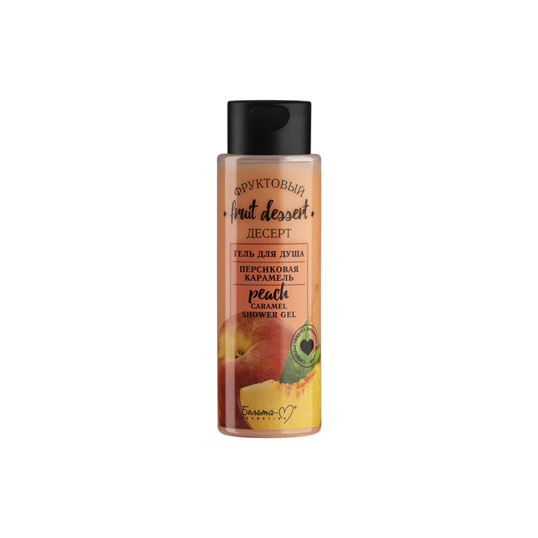 Fruit Dessert Shower Gel Peach Caramel 200g