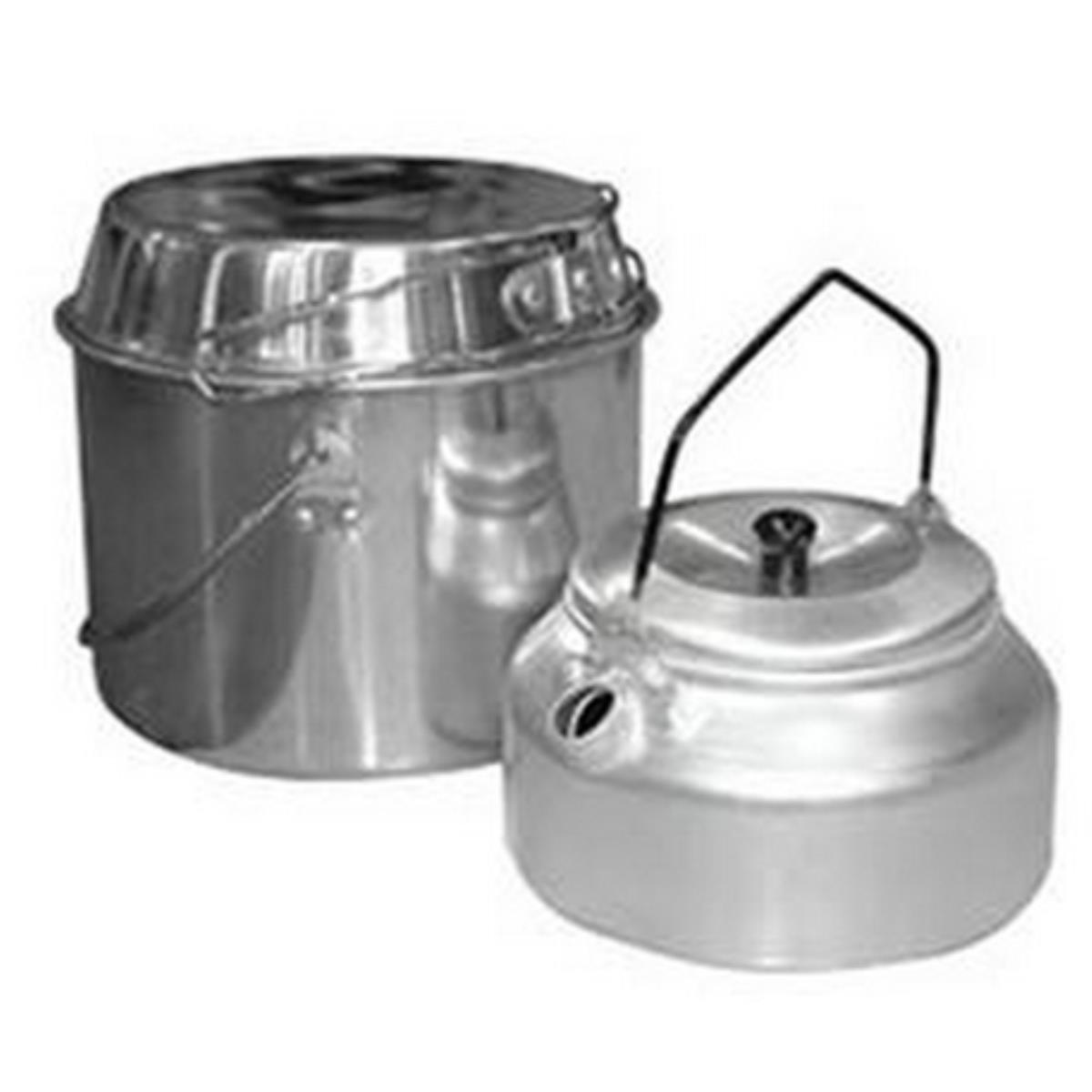 Set Camping Bucket 3L Kettle 1L Camp-s2 (991002/991009)
