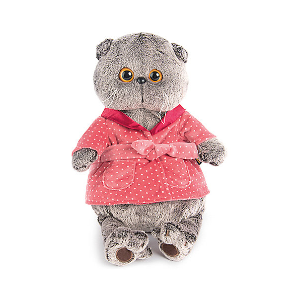 Clothes For Soft Toys Budi Basa Dark Pink Robe, 30 Cm