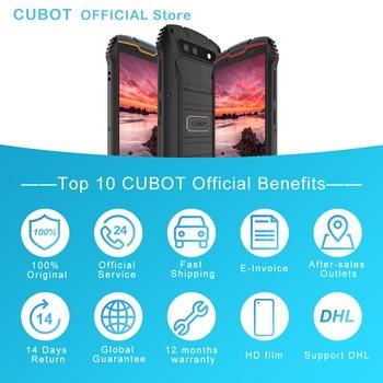 "Cubot KingKong MINI2 Rugged Phone 4"" QHD+ Screen Waterproof 4G LTE Dual-SIM Android 10 3GB+32GB 13MP Camera MINI Phone Face ID 6"
