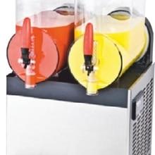 Турецкая двойная ледяная слякоть машина замороженные напитки машина
