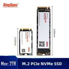KingSpec M2 SSD pcie 120GB 240 GB 1tb SSD 2TB NVMe SSD dysk M 2 SSD PCIe NVMe dysk twardy dla Lenovo Laptop Desktop tanie tanio SATAIII CN (pochodzenie) SM2263XT STAT1000C Read Max speed Up to 2400MB s Write Max speed Up to 1700mb s Pci-e NE-XXX Rohs