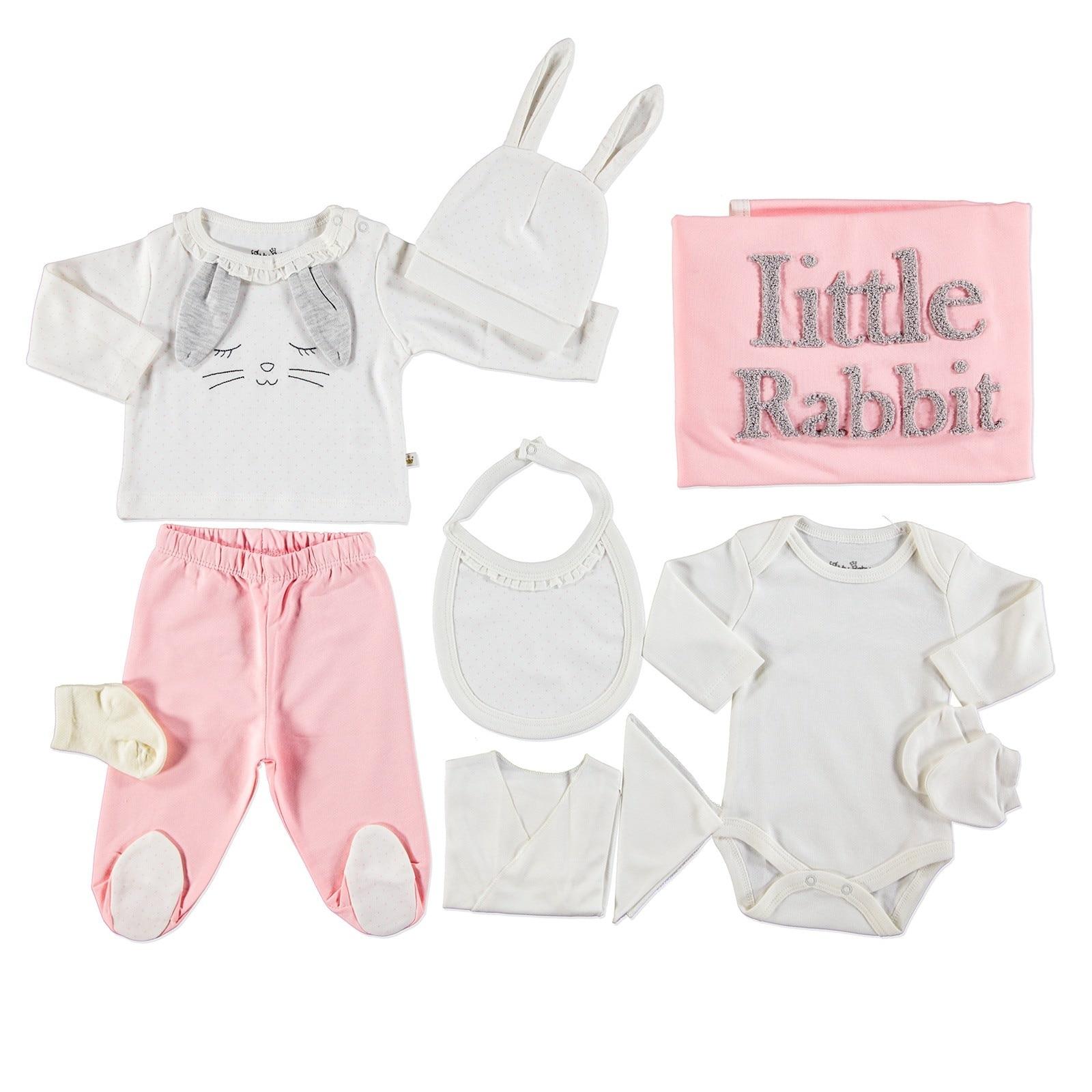 Ebebek For My Baby Bunny Newborn Hospital Pack 10 Pcs