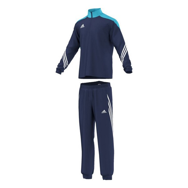 Tracksuit For Adults Adidas Sere 14 Pre Suit Blue