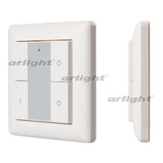 021369 Panel Knob SR-KN9550K4-UP White (KNX, DIM) Box-1 Pcs ARLIGHT-Управление Light/Lot KNX/^ 83