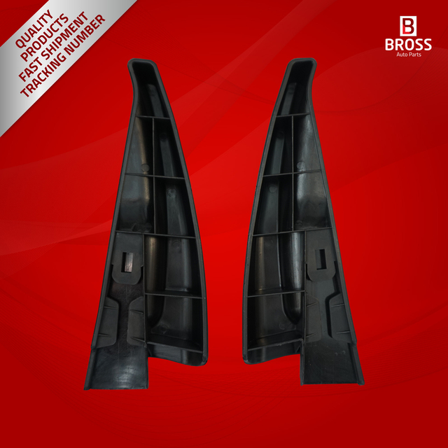 Bross BDP639 2 sztuk Seat uchwyt na prawo i lewo czarny kolor dla Megane MK3 2008-2016 Fluence 2009-2016 tanie i dobre opinie Bross Auto Parts Fotele Ławki accessoires Left AND Right Turkey