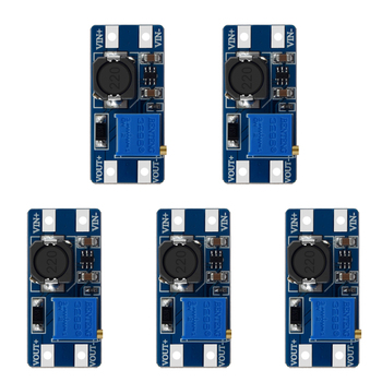 цена на MT3608 DC-DC Step Up Converter Booster Power Supply Module Boost Step-up Board MAX output 28V 2A for arduino