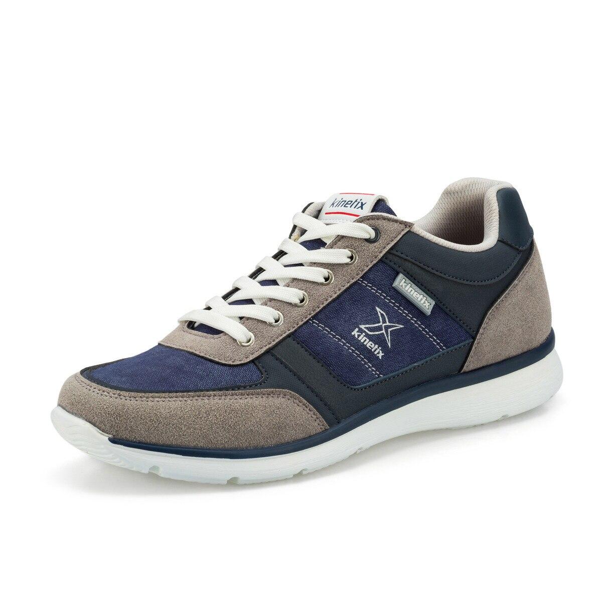 FLO EDGAR Navy Blue Men 'S Sports Shoes KINETIX
