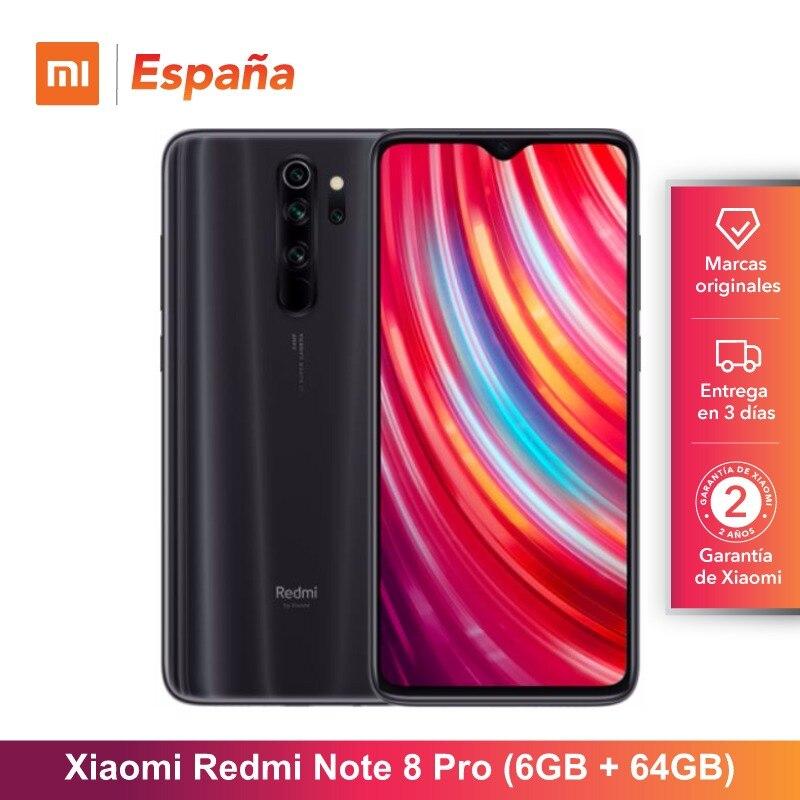 Xiaomi Nota Redmi 8 Pro (64GB ROM, 6GB RAM, cámara de 64 MP, android, Nuevo, Libre) [Teléfono Movil Versión Global parágrafo España