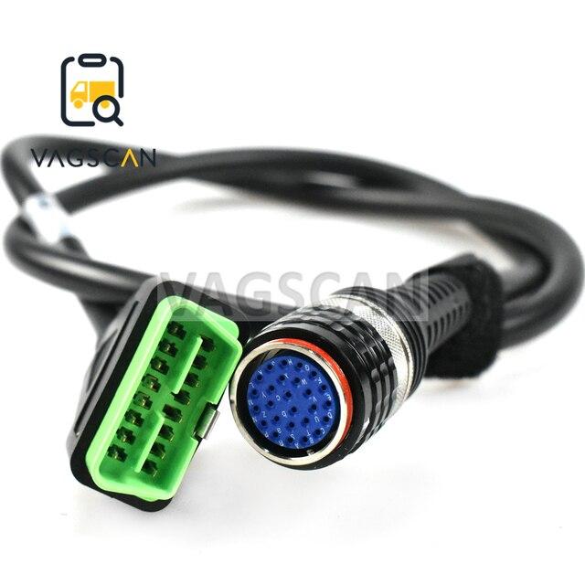 OBDII adapter Cable 88890304 for Volvo VOCOM 88890300 VOCOM II adapter (8889400)