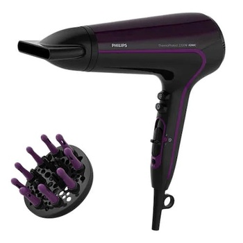 Philips HP8233 Hair Dryer Machine | ThermoProtect 2200 W Hair Dryer Machine | Free Shipping | Purple фен philips thermoprotect hp8233 00 2200вт фиолетовый