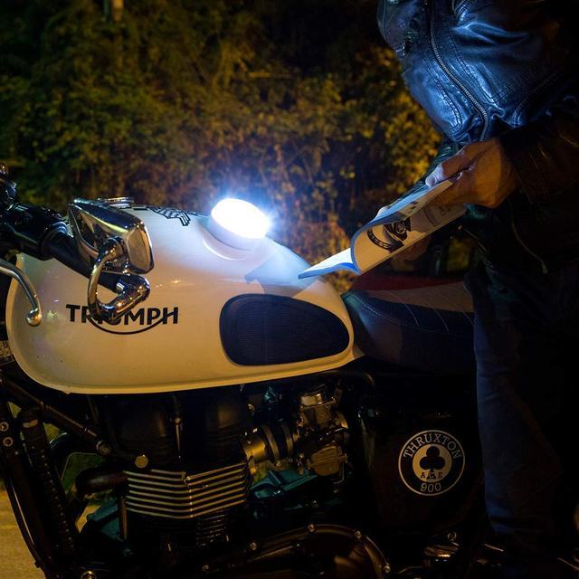 Help flash - Luz de emergencia autónoma - Señal v16 de preseñalización de peligro, homologada DGT 3