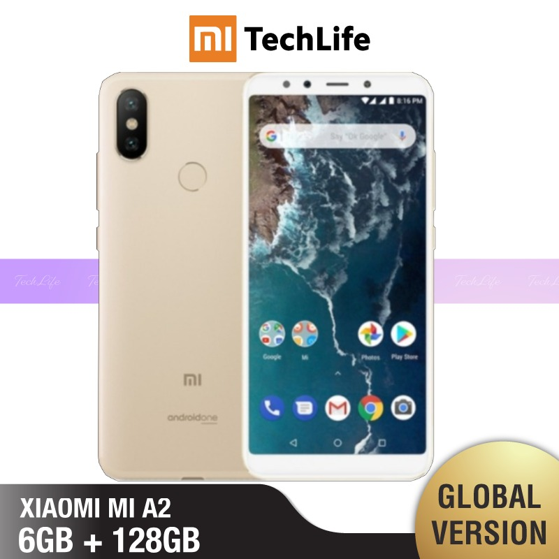 Global Version Xiaomi Mi A2 128GB ROM 6GB RAM (Brand New / Sealed) Mi A2, Mia2