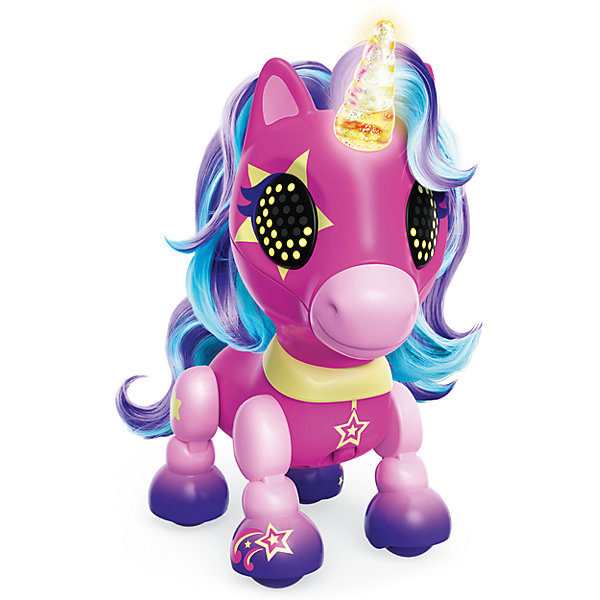 Interactive Toy Spin Master Zoomer Happy Unicorn Sta