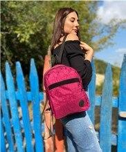 Basit tarzı bayanlar sırt çantası, hırsızlık Oxford kumaş branda dikiş sequins çocuk kolej çantası sırt çantası Mochi