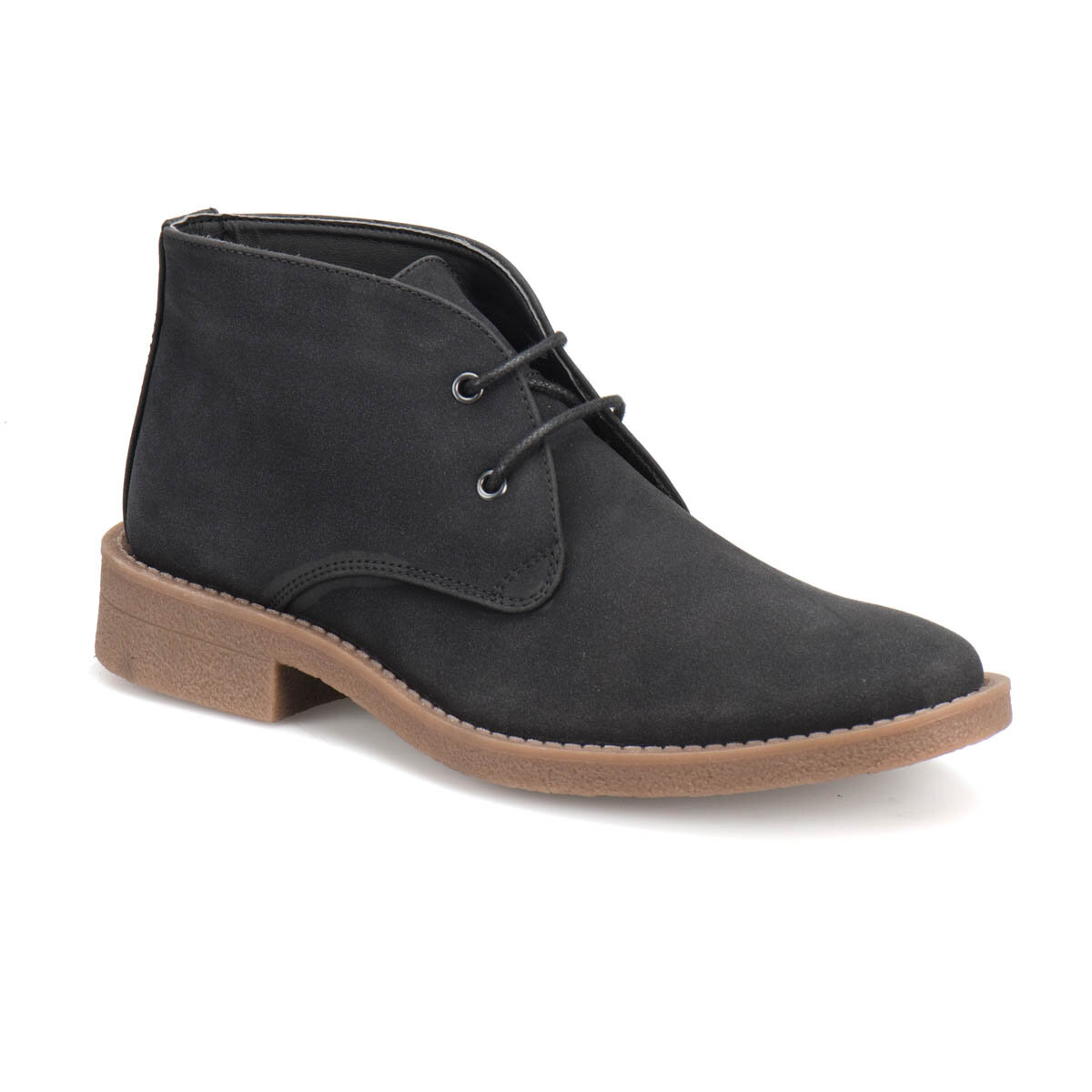 FLO 22940 Black Men Boots Garamond