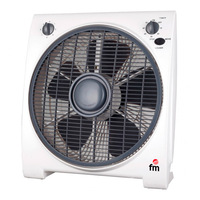 Floor Fan Grupo FM BF4 45W White