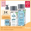 AMAM a BELEZA E PLANETA Conjunto shampoo, água de coco condicionador e Gel Facial limpador de uso vegan e flor Mimosa Pacote reciclado