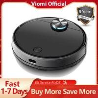 VIOMI-Robot aspirador V3 LDS, aspiradora con navegación láser, 2600Pa, en húmedo y seco, para barrer y fregar el pelo de mascotas