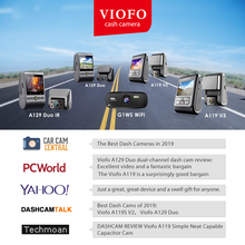 VIOFO professional DASH CAM CAR DVR with GPS and super night vision Praise products