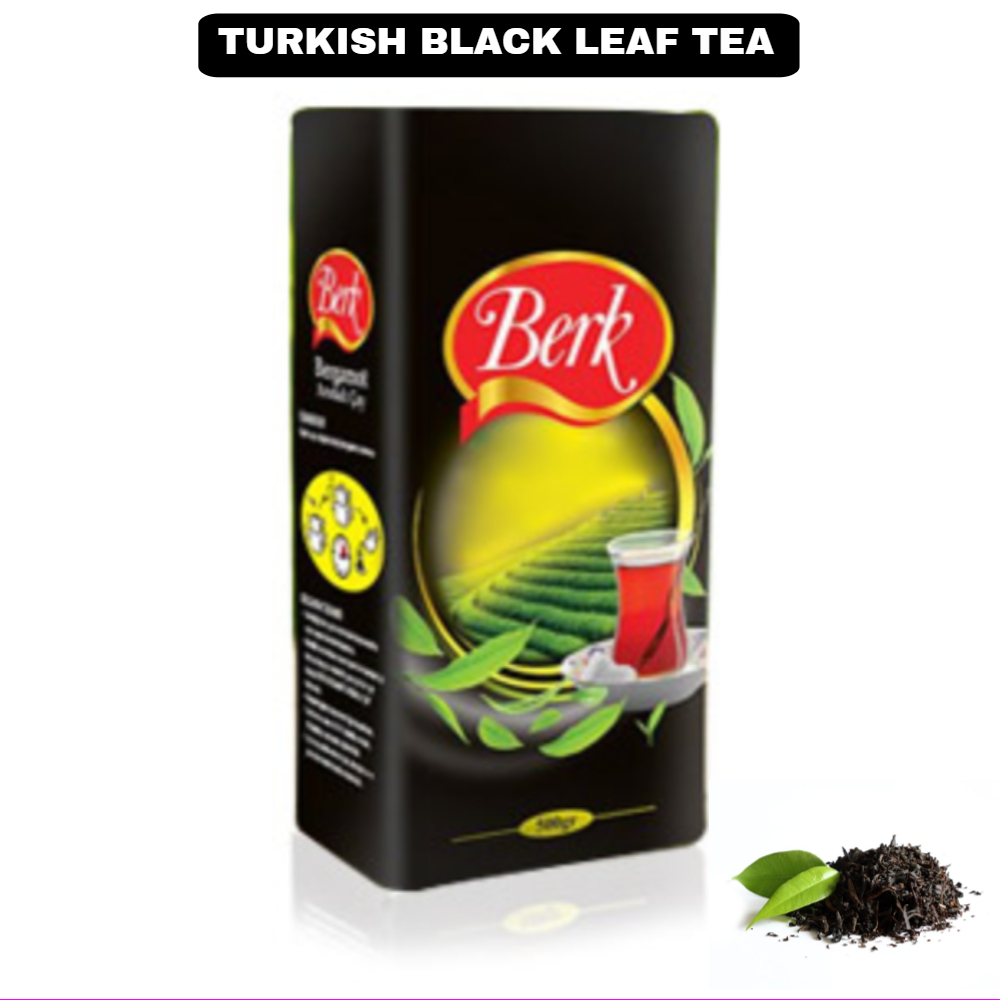 Turkish Black Leaf Tea With Unique Aroma Bergamot Flavored Unforgettable Smell And Taste 500gr-Free-Fast-Safe Ship