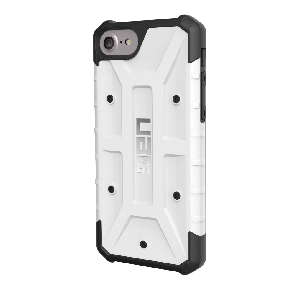 Protective case UAG Pathfinder for iPhone 8/7 white gkk for iphone 7 pc three paragraph shield 360 degrees full coverage protective case back cover black