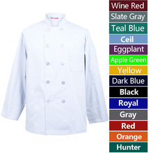 Chef Shirt Baker-Uniform Restaurant Men Barista Men's