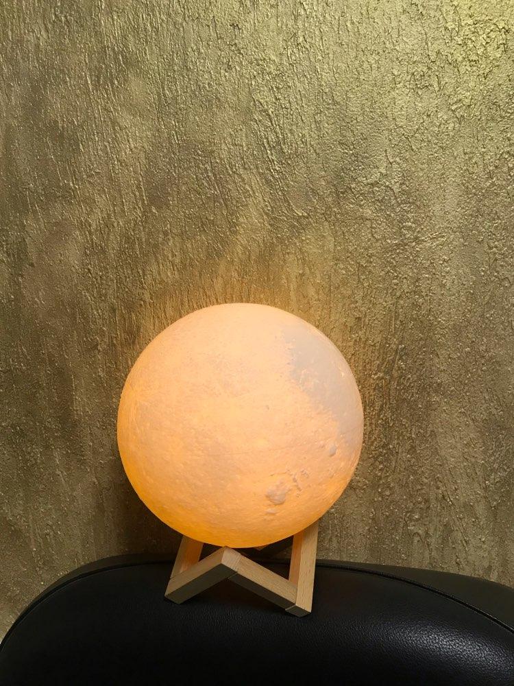 Ultimate Multicolours Moon Lamp 12CM photo review