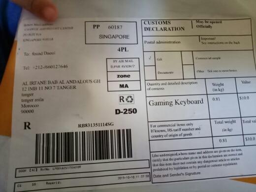 -- Gamesir Vermelho Teclado