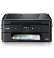 EQUIPMENT MULTIFUNCTION BROTHER MFC J880DW INK COLOR 12PPM/10PPM COPIER SCANNER FAXING PRINTER TRAY 100H
