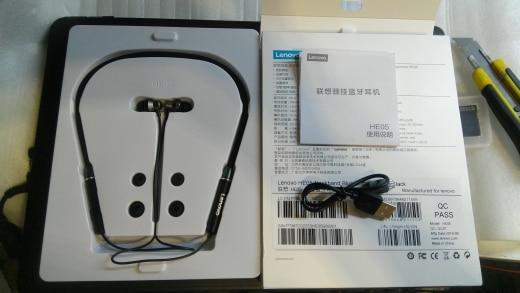 Lenovo HE05 Wireless Bluetooth Headphones IPX5 Waterproof Sport  Earphones Magnetic Headset with Mic Noise Cancelling Earphone Bluetooth Earphones & Headphones    - AliExpress
