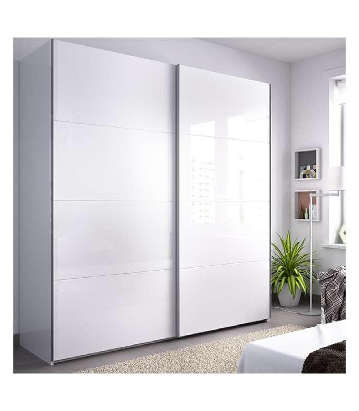 Wardrobe 2 Sliding Doors Slide 180 Cm Wide