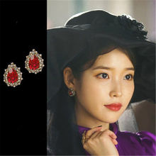 Lee Ji Eun same Stylish and elegant iu earrings for women brincos fashion jewelry mujer geometric цена в Москве и Питере