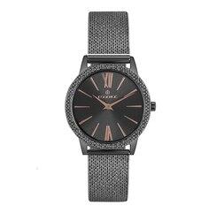 Reloj para mujer es6558fe. 060 para pulsera de acero inoxidable con revestimiento IP con cristal mineral y luz solar