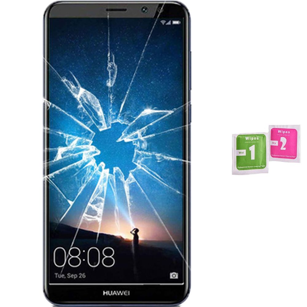 Screen Protector Tempered Glass Vidrio Para For HUAWEI MATTE 10 LITE (Generico, Not Full