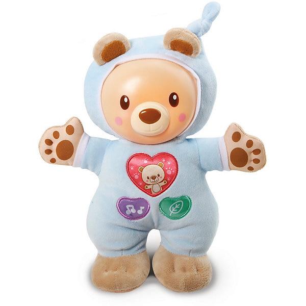 Glowing Teddy Bear For Sleep Vtech Blue