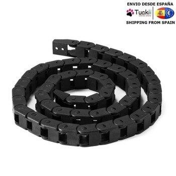 Chain holder cables cnc prusa printers drag 3d 7x7mm 10x13mm