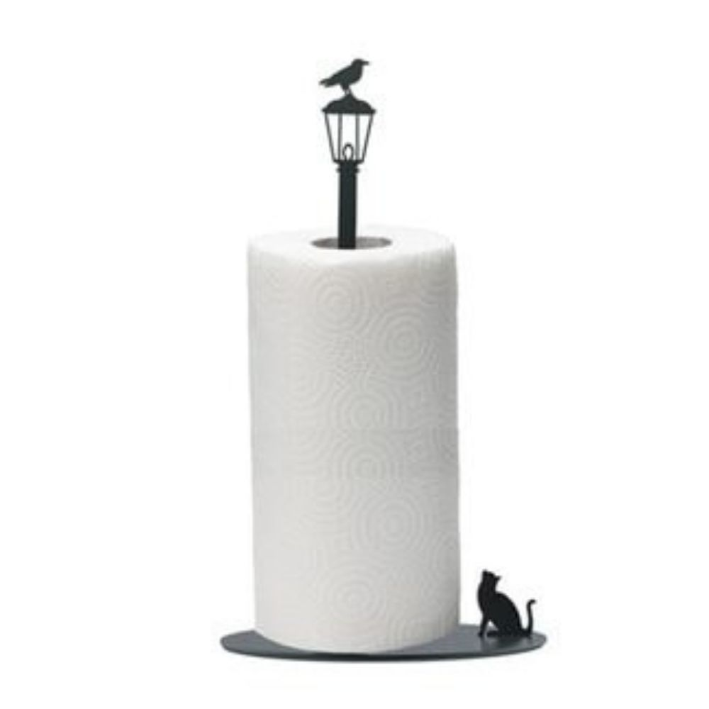 Cat Themed Paper Towel Holder Stand