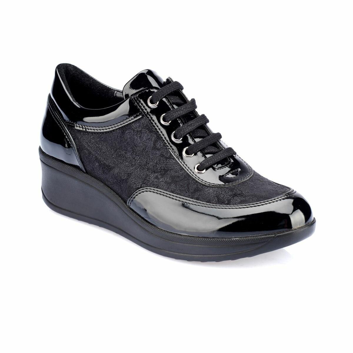 FLO TRV8210 Black Women Shoes Polaris
