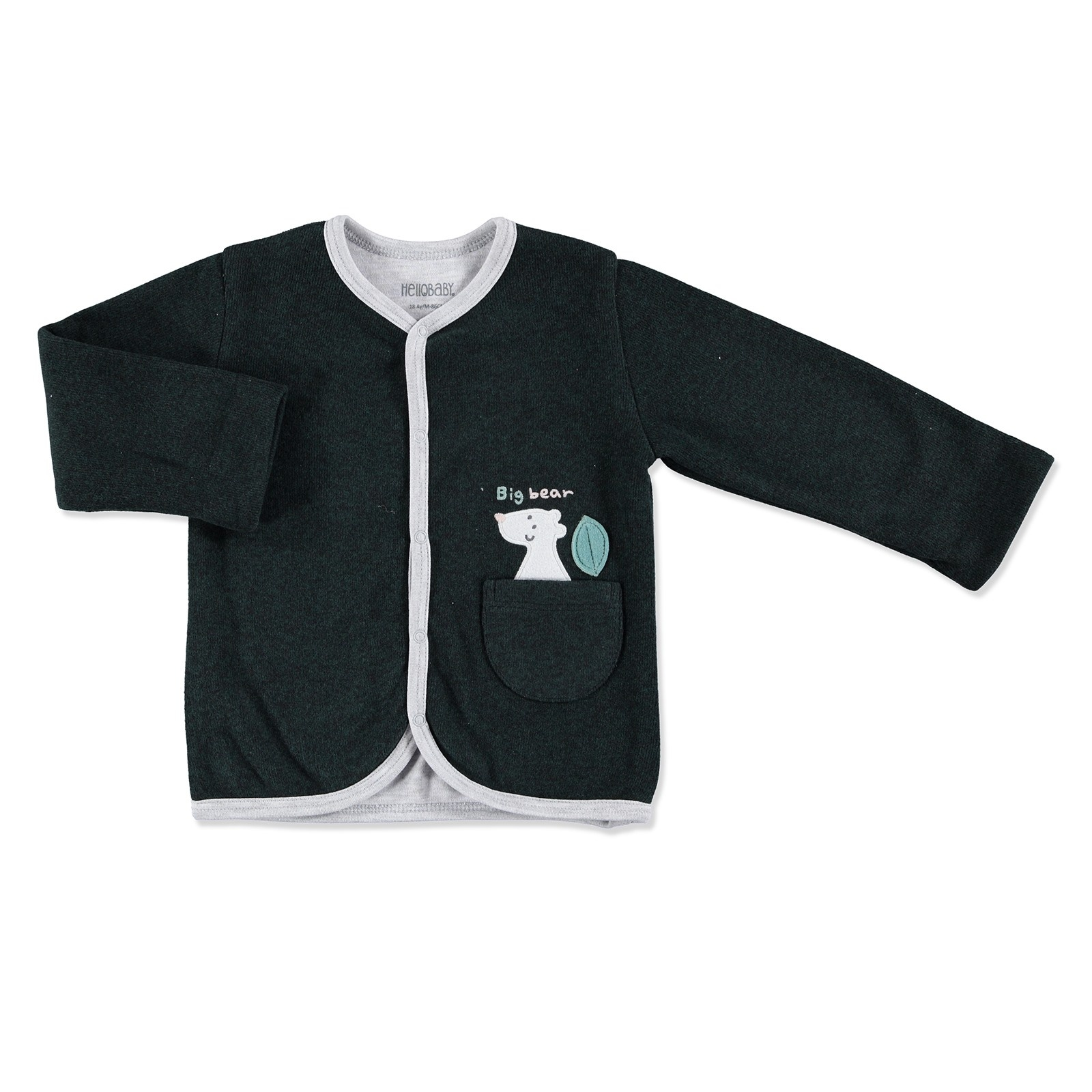 Ebebek HelloBaby Forest Party Baby Cardigan
