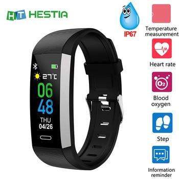 цена на Fitness Bracelet Smart Bracelet Men Women Smart Band Watch Pedometer Wristband Blood Pressure Heart Rate Monitor Sports Band