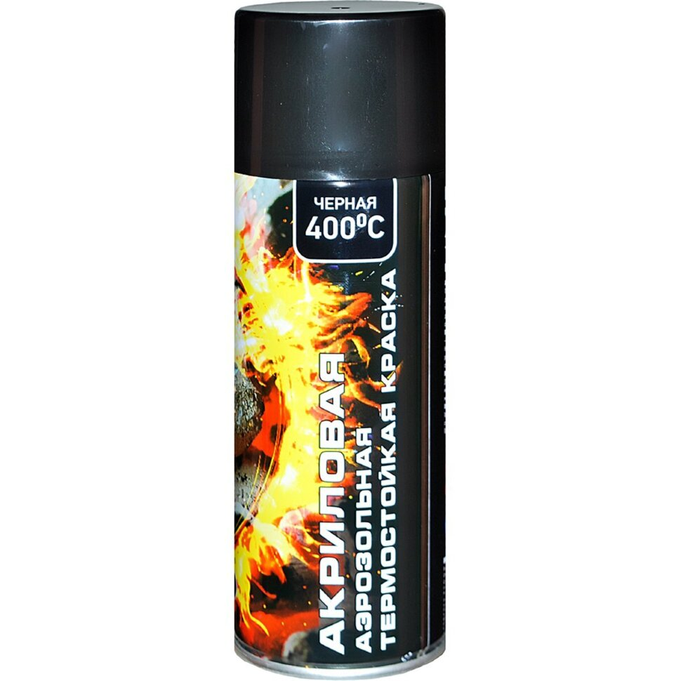 Paint Spray heat resistant black ...
