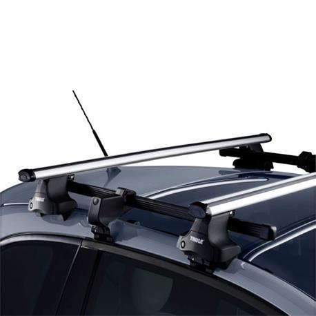 Otomobiller ve Motosikletler'ten Çatı Raflar ve Kutular'de Adaptörü tavanlar kısa MS Thule 774 için 754 yeni hızlı sistemi title=