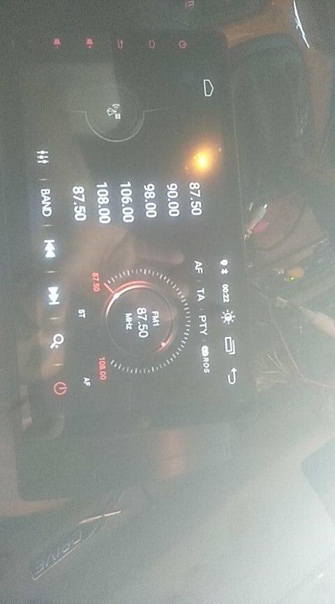 Reprodutor multimídia automotivo Autoaudio Receptor Navigation