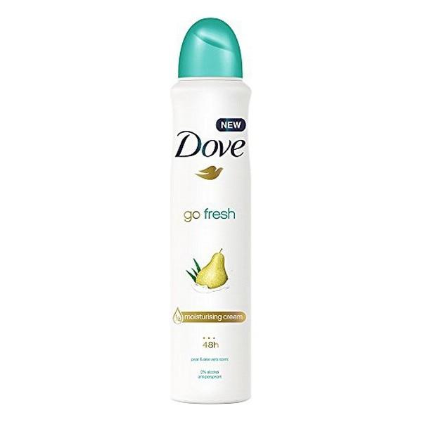 Spray Deodorant Go Fresh Pear & Aloe Dove (250 Ml)