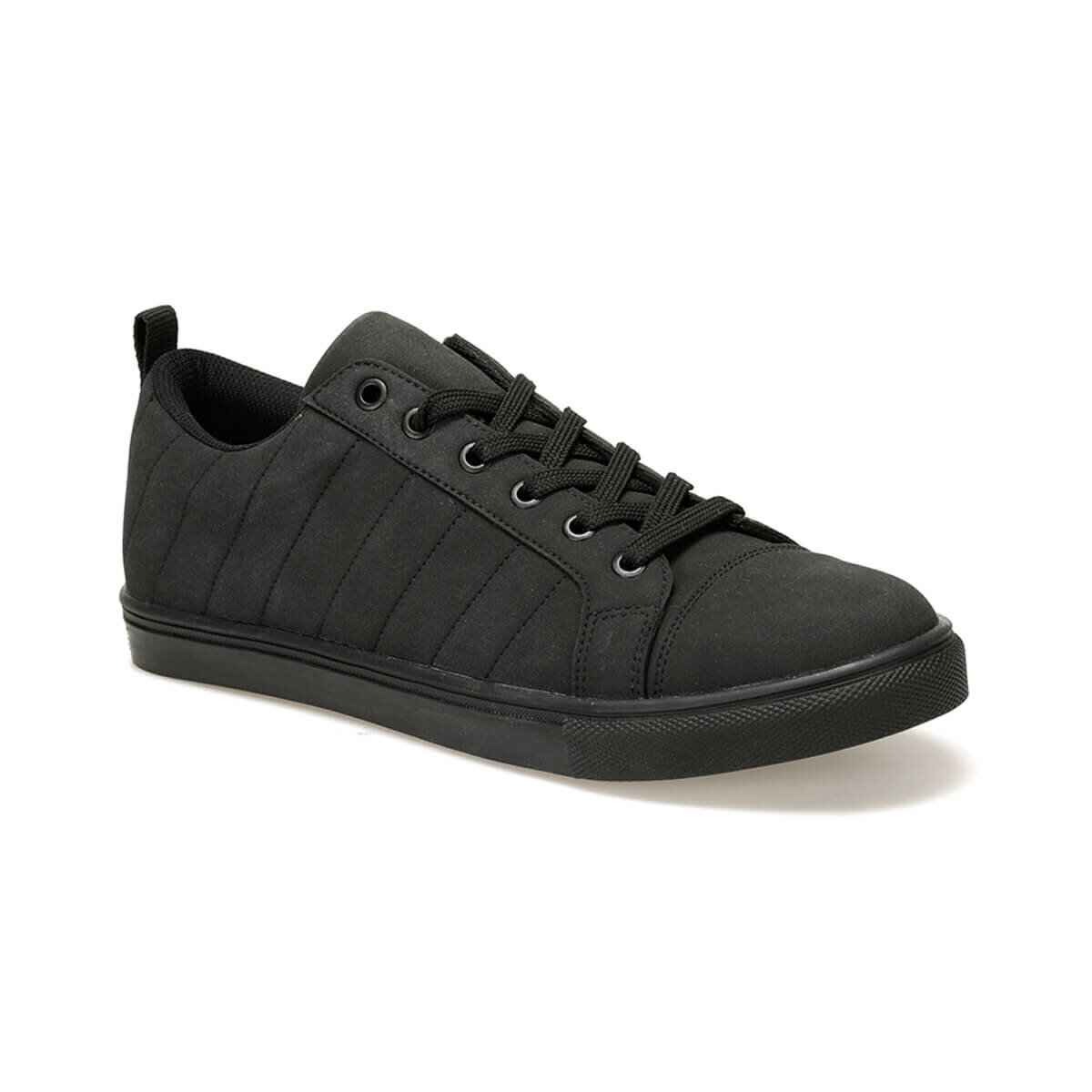 FLO KP-012 Black Male Shoes Panama Club