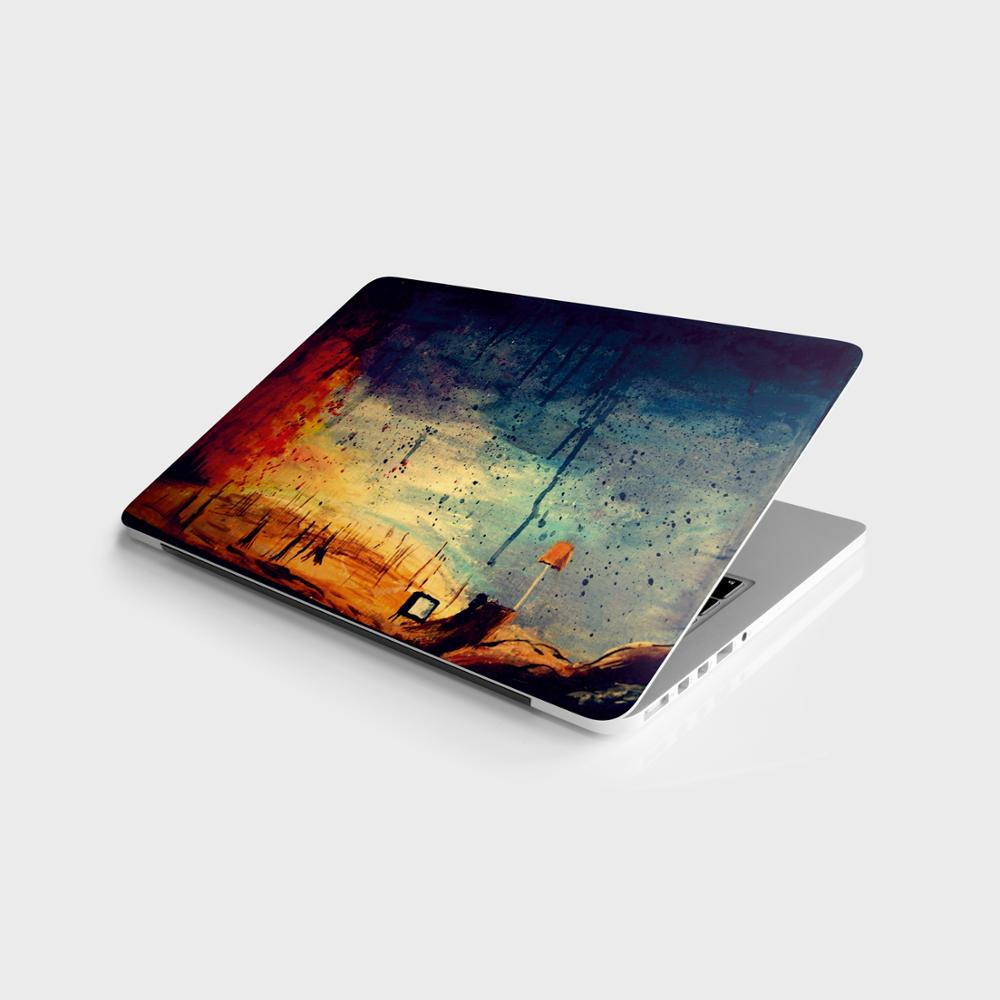 "Sticker Master Fluo niversal laptop skin for 13 14 15 15.6 16 17 19 ""inc notebook decal for mac, dell, acer, hp, toshiba, asus, lenovo"