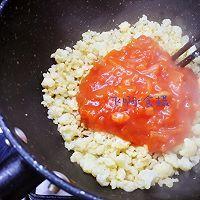 """#美食说出""""新年好""""#无米西红柿蘑菇鸡蛋烩饭~好吃低卡无负担的做法图解7"""