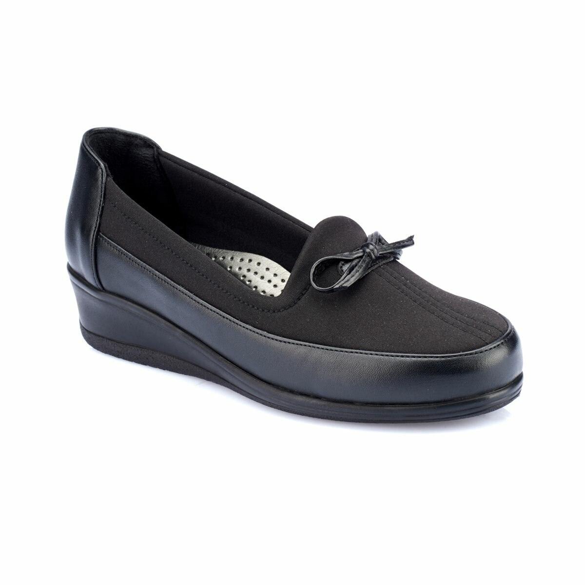 Flo 82.150034.z preto sapatos femininos polaris